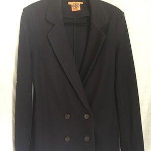Tory Burch Wool Blazer/pea coat (Navy)